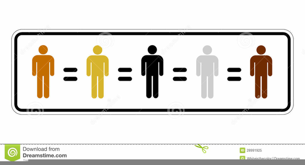 Racial Equality Clipart.