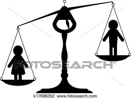Gender equality Clipart.
