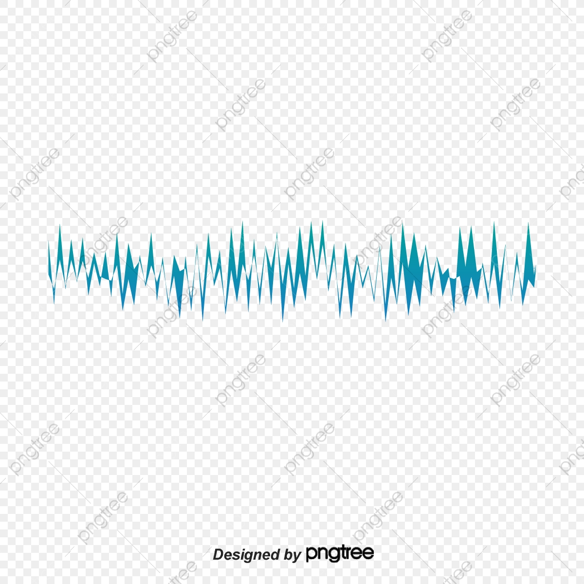 Abstract Acoustic Equalizer Pattern, Abstract Pattern, Vector Sonic.