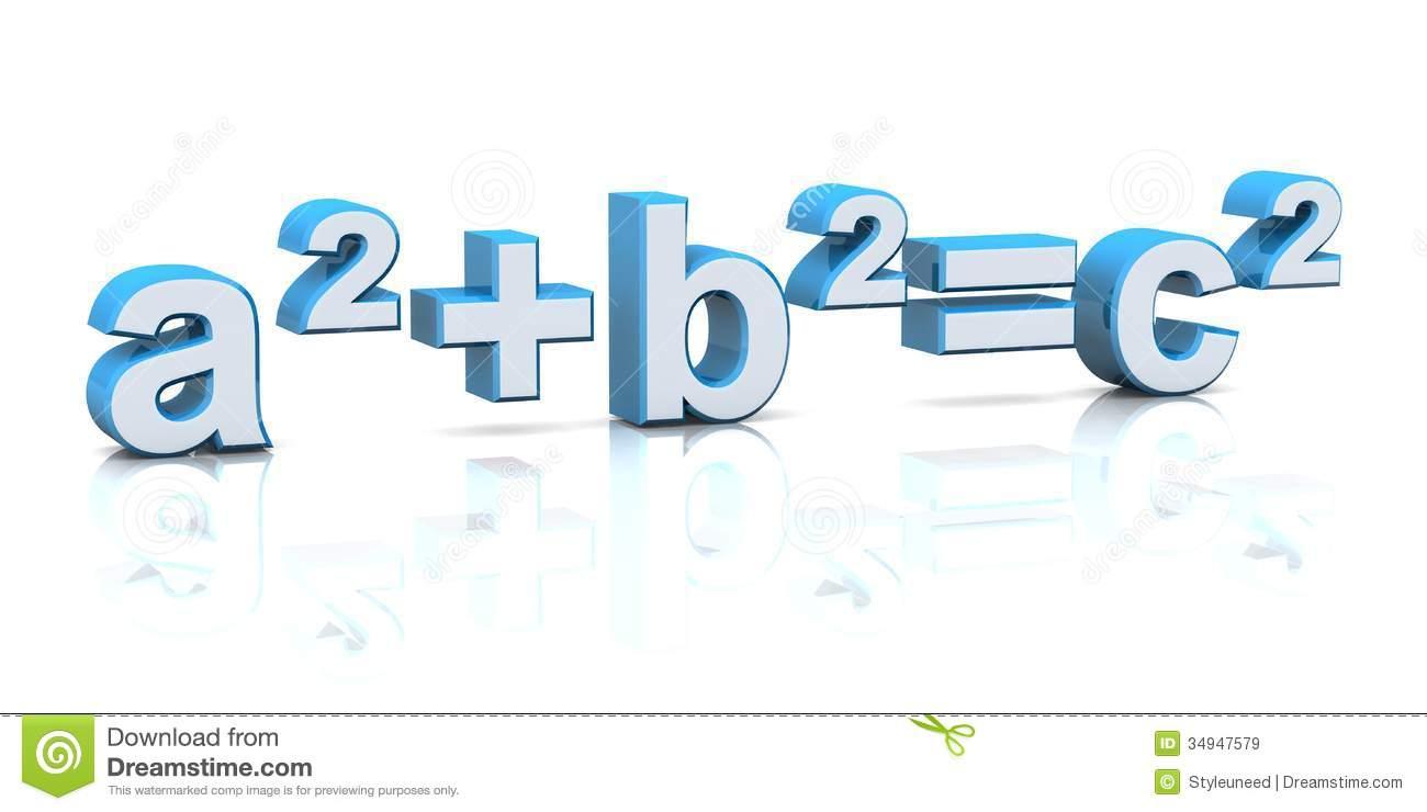 Equations clipart.