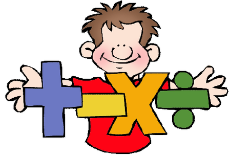 Math equations clipart.