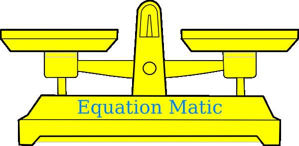 Math Equation Clipart.