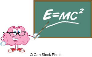 Physics equations clipart.