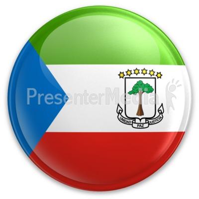 Badge of Equatorial Guinea.