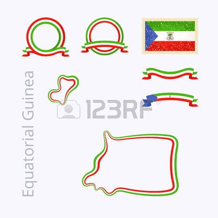 234 Republic Of Equatorial Guinea Stock Vector Illustration And.