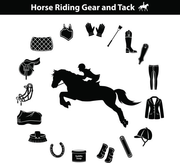 Best Equestrian Event Illustrations, Royalty.