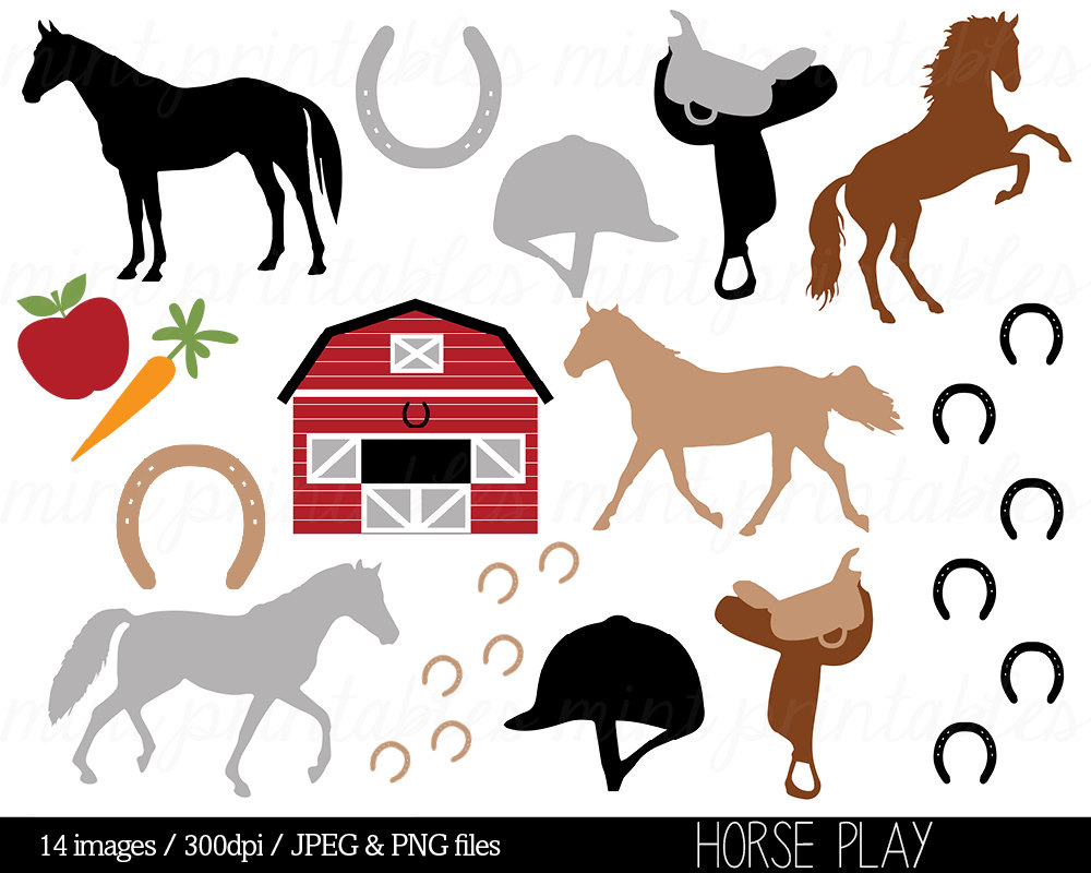 Equestrian clipart free.