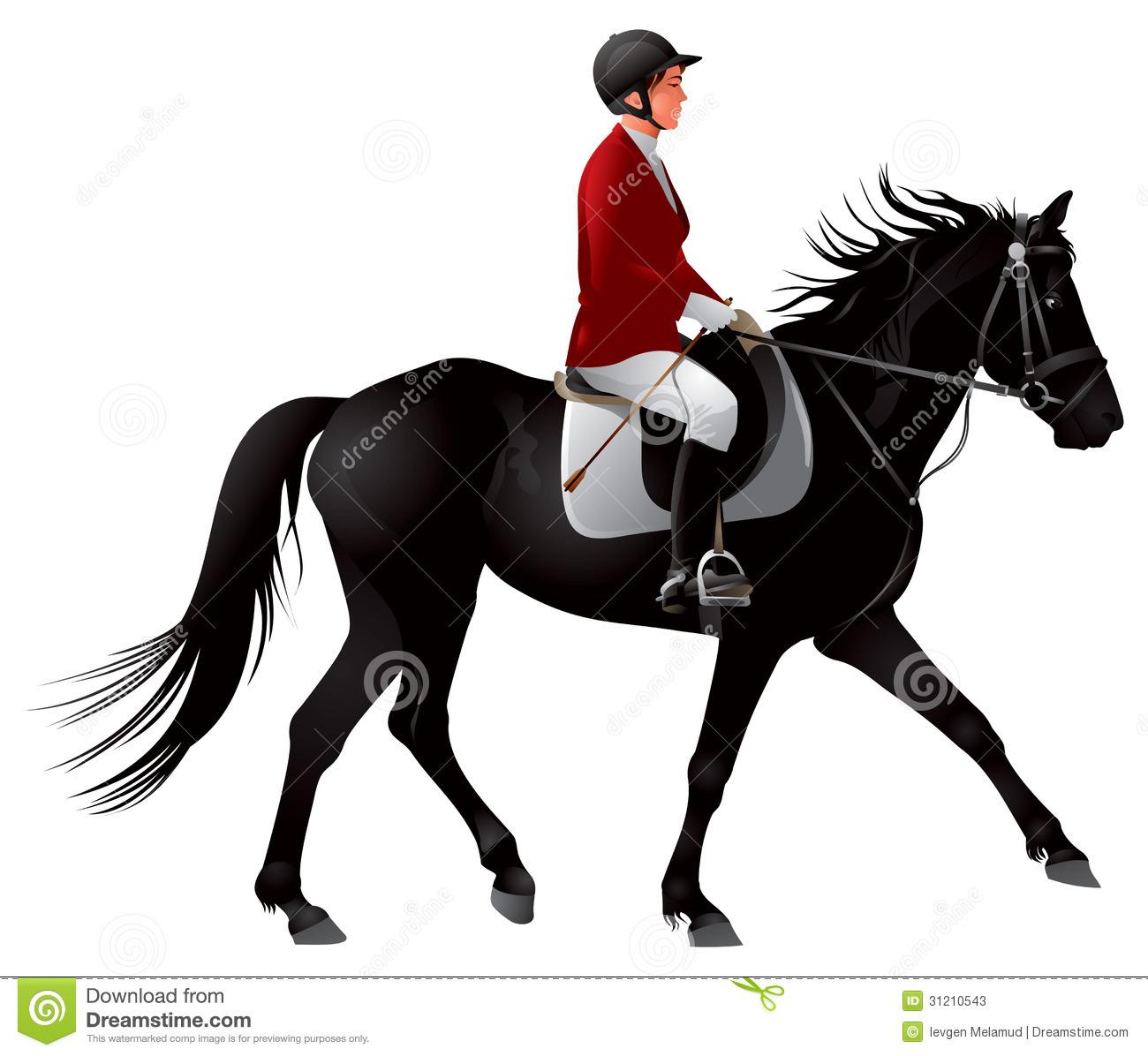 Equestrian Clipart.