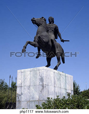 Picture of Equestrian Statue of Alexander the Great at.