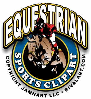 Equestrian Clipart on Rivalart.com.