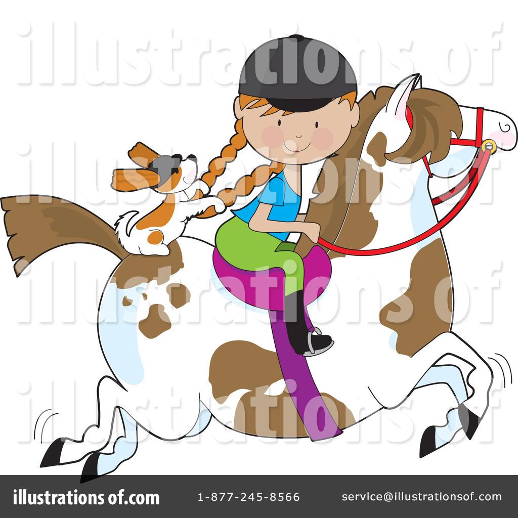 Equestrian Clipart #17816.