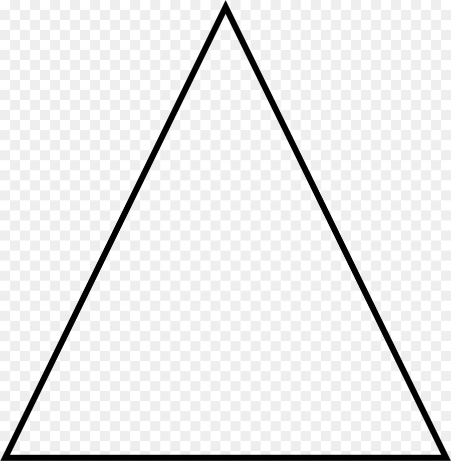 Equilateral Triangle clipart.