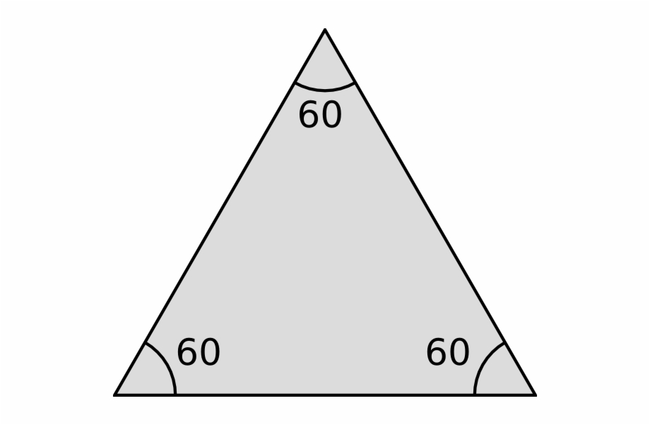 Equilateral Triangle Png.