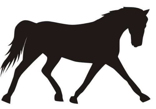 Free equine clip art.