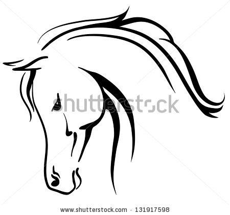 Equine clip art.