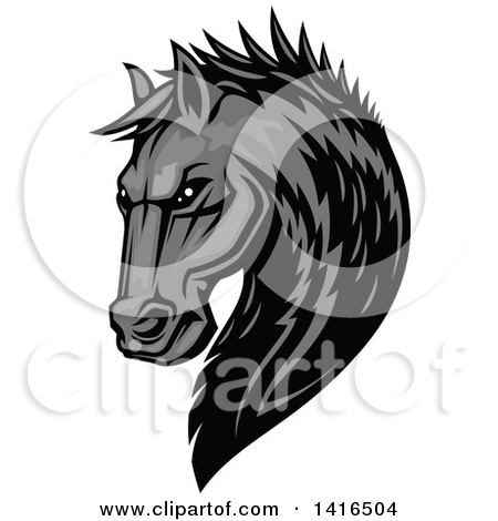 Royalty Free Equine Illustrations by Vector Tradition SM Page 4.