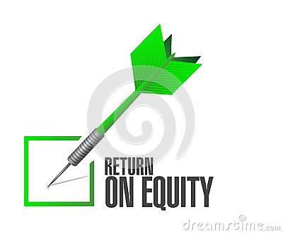 Return on equity clipart.