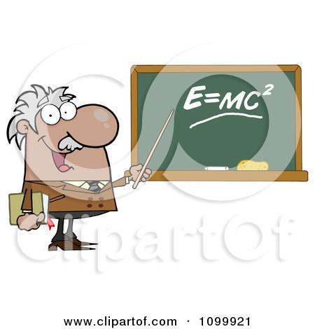 Clipart The Mass Energy Equivalence Equation E Equals MC2 On A.