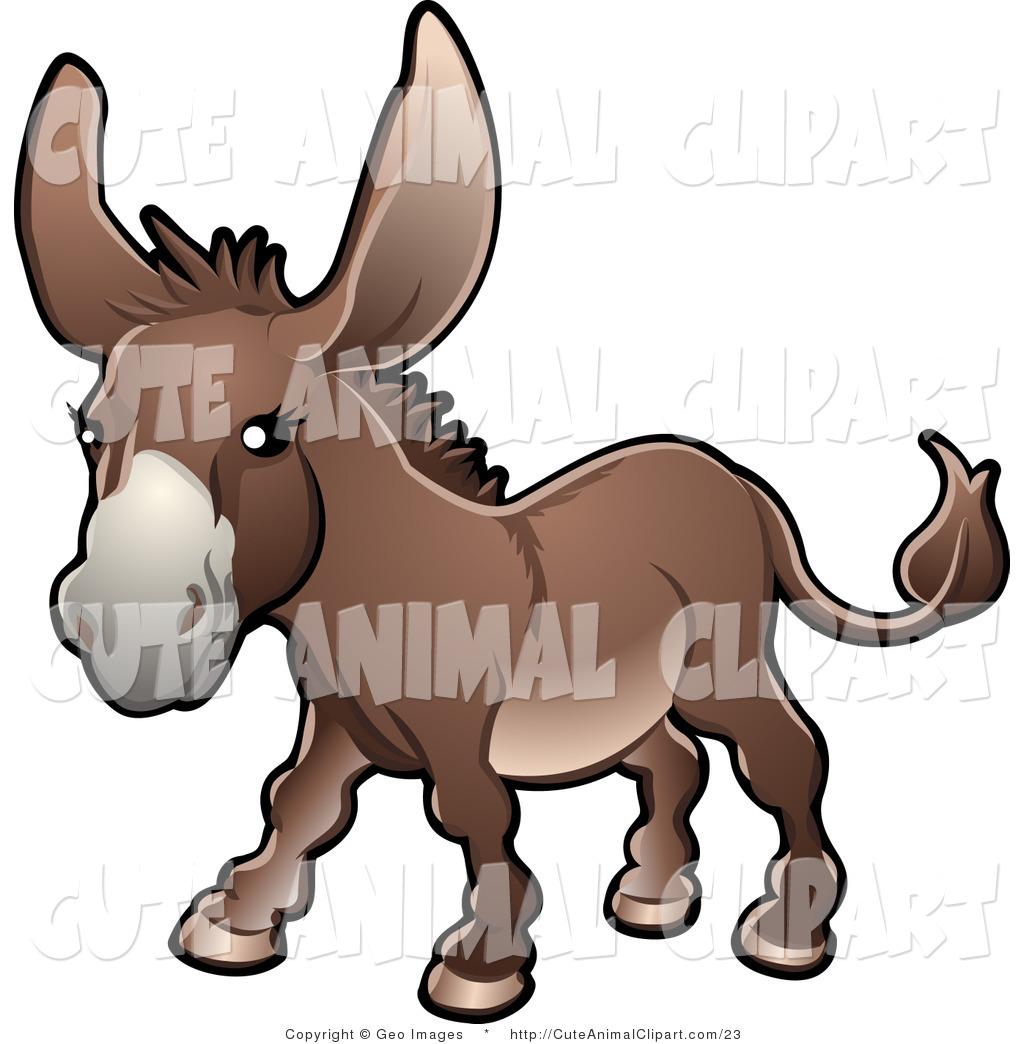 Royalty Free Stock Animal Designs of Equus Asinus.
