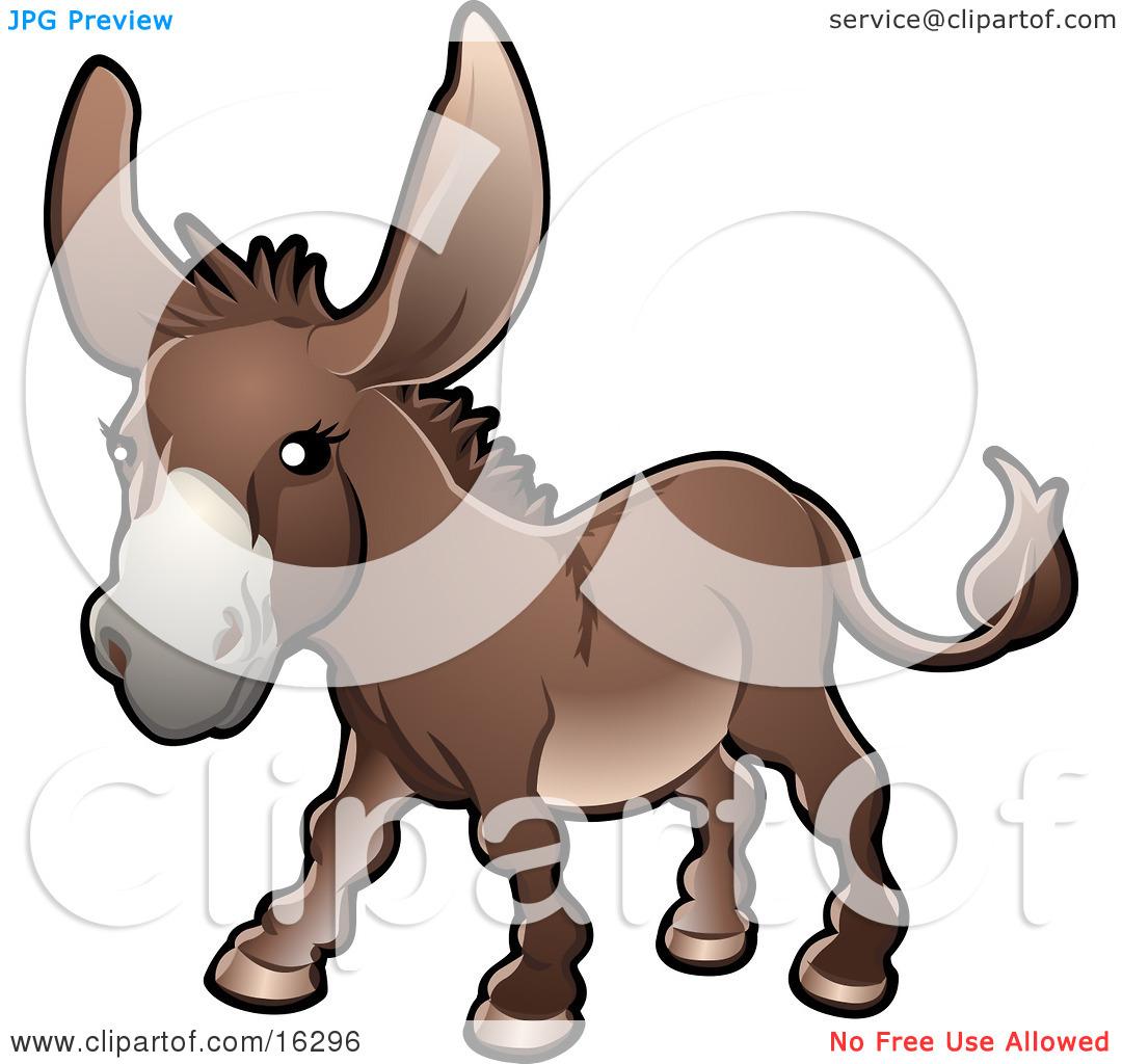 Barnyard Donkey Clipart.