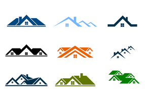 Real Estate Logo Free Vector Art.
