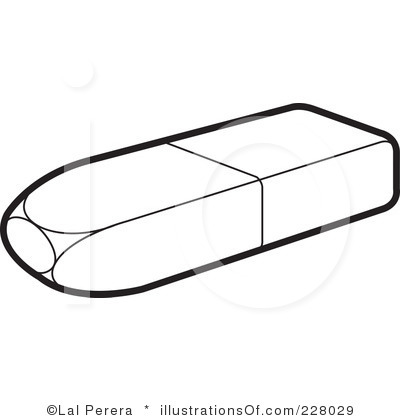 Pencil Top Eraser Clipart.