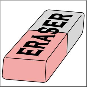 1168 Eraser free clipart.