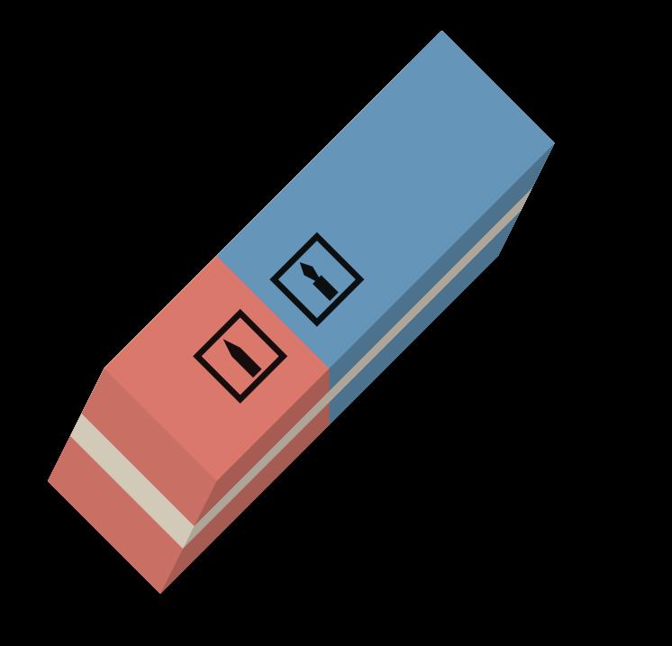 Eraser Clipart.