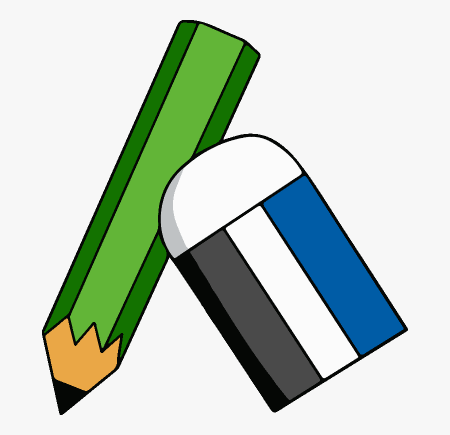 Transparent Pencil Eraser Png.