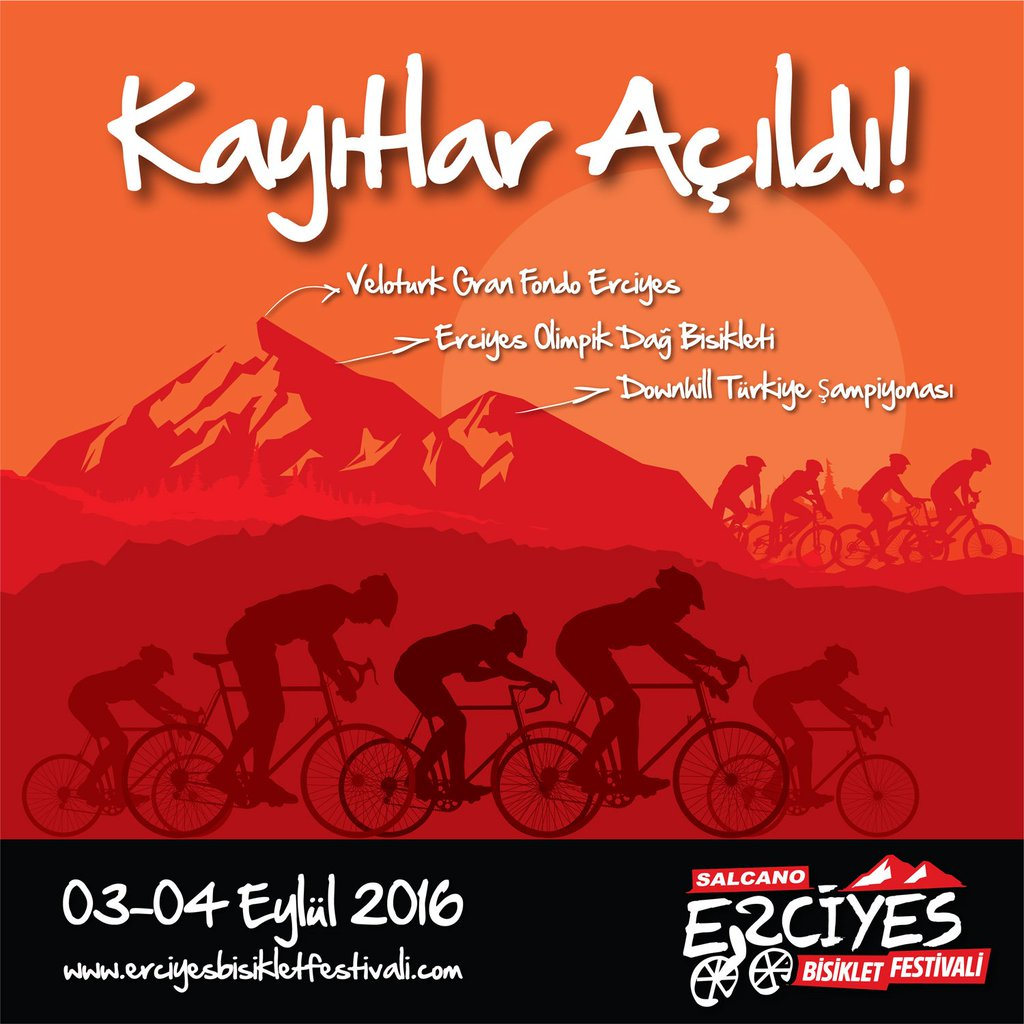 "Erciyes Bike Fest on Twitter: ""Erciyes, Veloturk Gran Fondo,Ulusal."