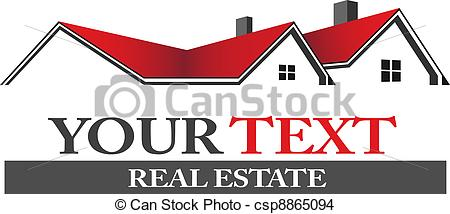 EPS Vector of Real estate logo.