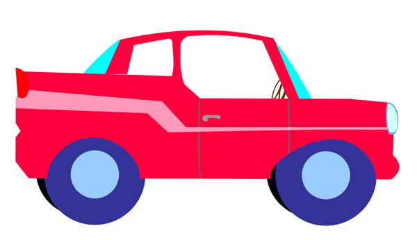 Free Clip Art Car.