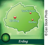 Erding map Vector Clip Art Illustrations. 13 Erding map clipart.