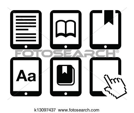 Clip Art of E.