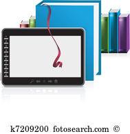 E reader Clipart Vector Graphics. 5,293 e reader EPS clip art.