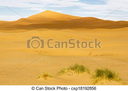 Stock Images of Erg Chebbi desert, Morocco, North Africa.