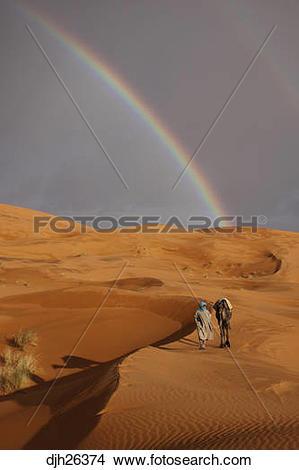 Stock Photo of Africa, North Africa, Morocco, Sahara Desert.