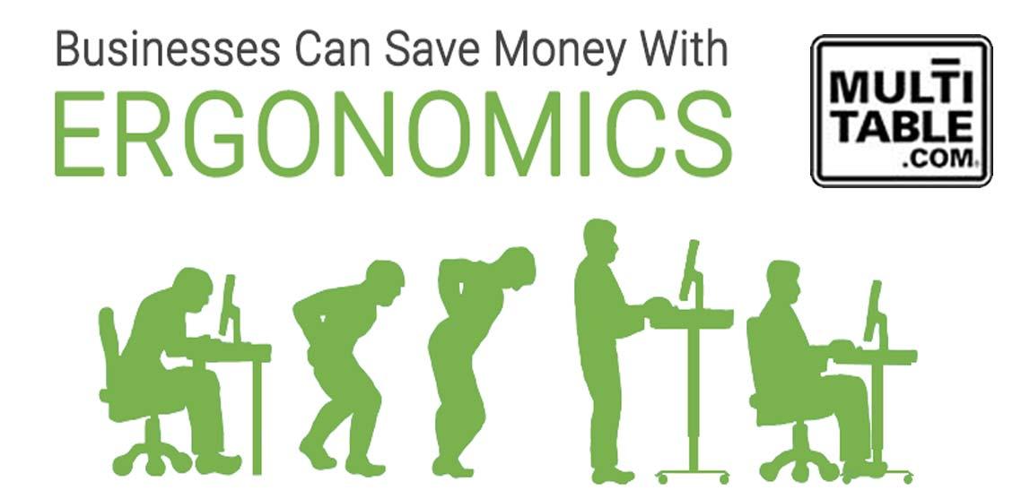 Businesses Save Money With Ergonomics.