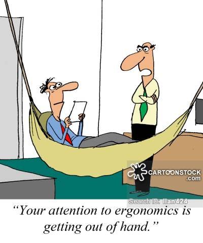 Bad ergonomics clipart.