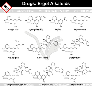 Ergot alkaloids and their synthetic and.