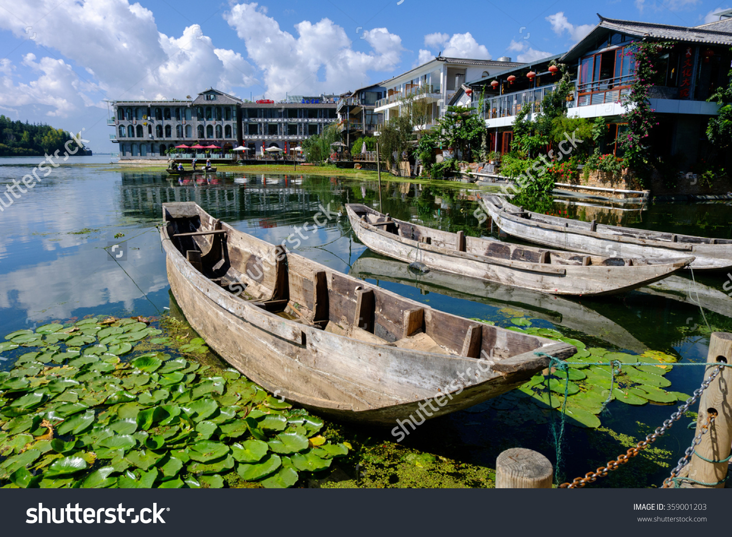 Dali China Oct 17 Landscape Erhai Stock Photo 359001203.