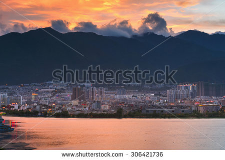 Erhai Lake Stock Photos, Images, & Pictures.