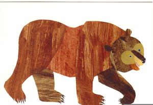 Eric Carle Brown Bear Clipart.