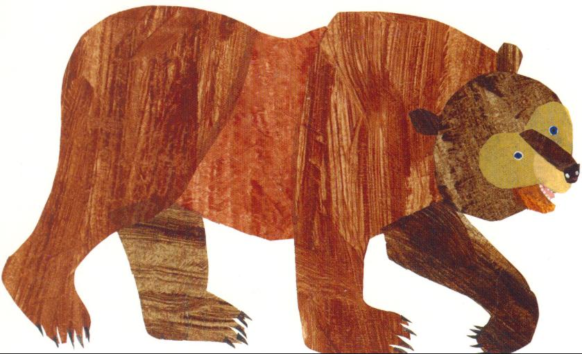 Eric Carle Brown Bear PNG Transparent Eric Carle Brown Bear.
