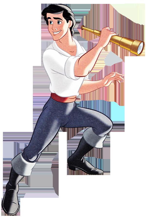Disney prince eric clipart.