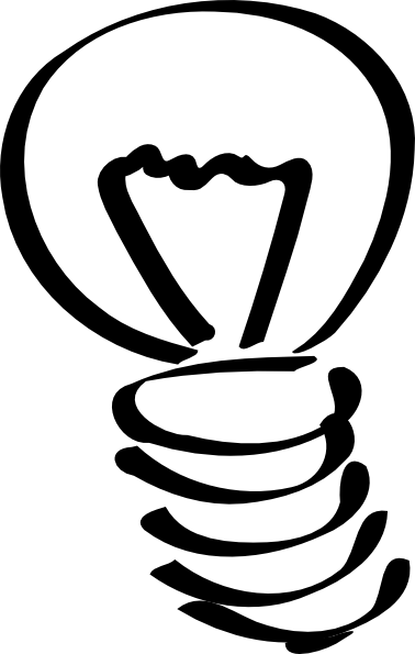 Lightbulb Sketch Clip Art at Clker.com.