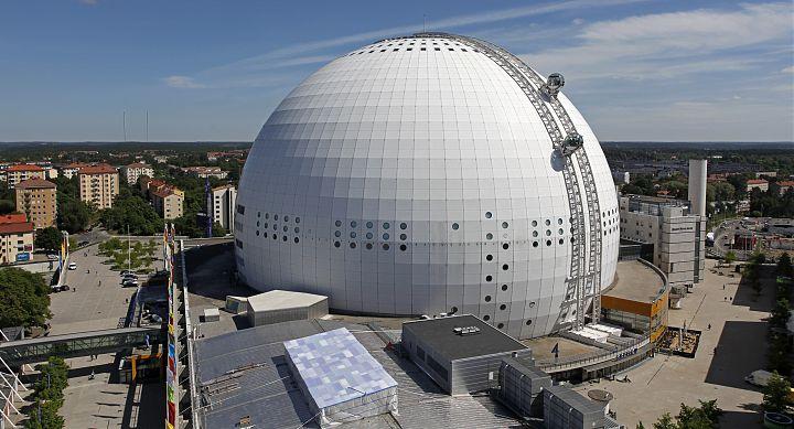 The Ericsson Globe.