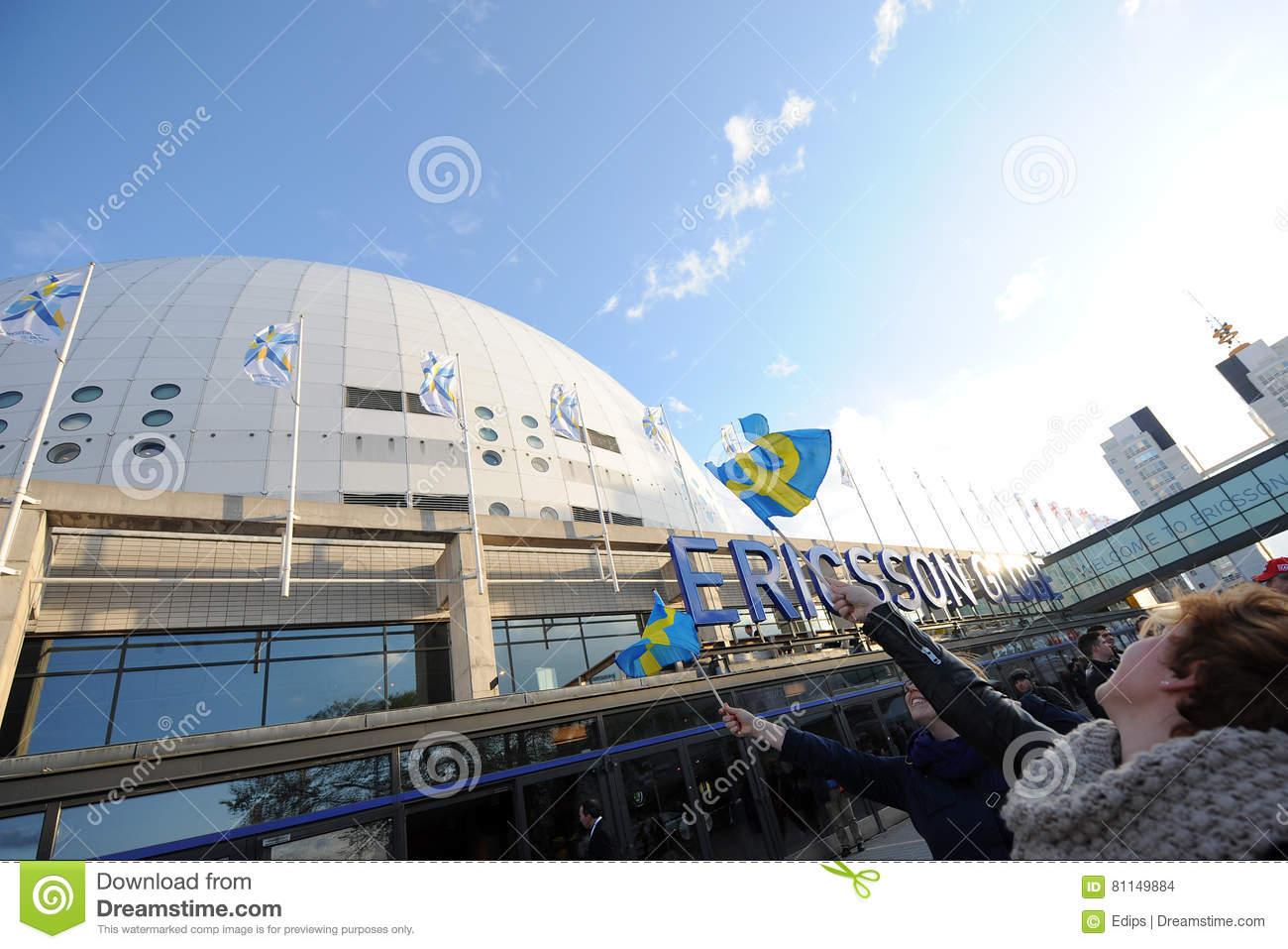 Ericsson Globe Arena Editorial Stock Image.