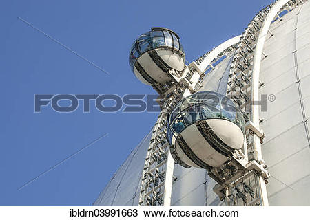 "Stock Photo of ""Sky View view cabins on the dome of the event."