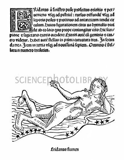 Eridanus constellation, 1482.